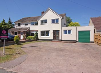 Thumbnail 3 bed semi-detached house for sale in Main Street, West Hagbourne, Didcot