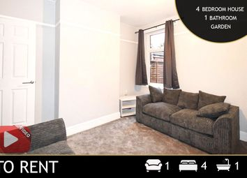 4 bed terraced house to rent in Pope Street, Leicester, Leicestershire LE2