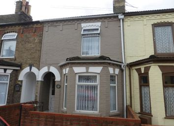Thumbnail 3 bed terraced house for sale in Fredrick Road, Gorleston, Great Yarmouth