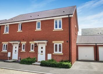 Thumbnail 3 bed semi-detached house for sale in Leisler Gardens, Trowbridge