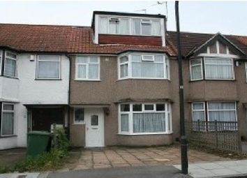 Thumbnail 5 bed terraced house to rent in Newnham Way, Harrow, Middlesex, UK