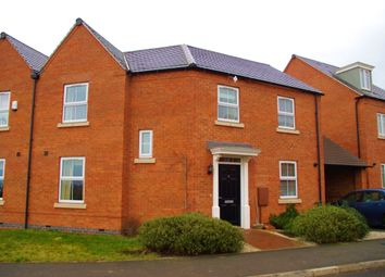 Thumbnail 3 bed semi-detached house for sale in Bexley Drive, Church Gresley, Swadlincote