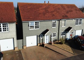 Thumbnail 3 bedroom semi-detached house for sale in Kingdon Avenue, Prickwillow, Ely, Cambridgeshire