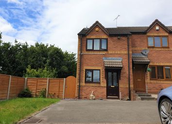 Thumbnail 2 bed terraced house for sale in The Hedgerows, Nuneaton