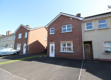 Thumbnail 3 bed end terrace house for sale in The Cedars, Antrim
