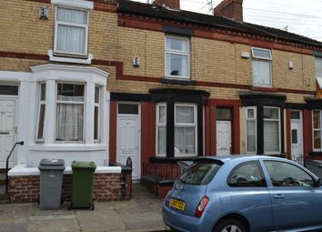 Thumbnail 2 bed terraced house to rent in Harrowby Road, Birkenhead, Wirral