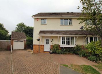 Thumbnail 3 bed semi-detached house for sale in Threos Close, Wepre, Connahs Quay