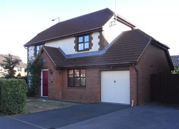 Thumbnail 4 bed detached house to rent in Stocken Close, Hucclecote, Gloucester