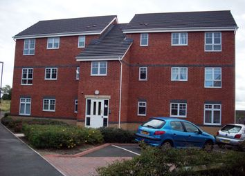 Thumbnail 2 bed flat to rent in Caesar Way, St Peters Park Wallsend