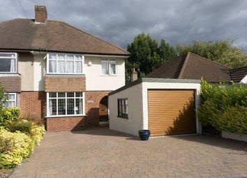 Thumbnail 3 bed semi-detached house for sale in Glenwood Way, Shirley, Croydon, Surrey