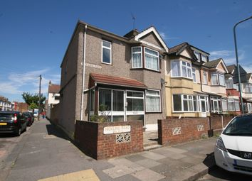 Thumbnail 4 bed end terrace house to rent in Hickling Road, Ilford