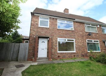 Thumbnail 3 bedroom semi-detached house for sale in Deanham Gardens, Newcastle Upon Tyne