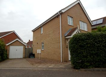 Thumbnail 3 bed detached house to rent in Thistle Close, Norwich