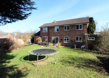 Thumbnail 5 bedroom detached house for sale in Corfe Gardens, Frimley
