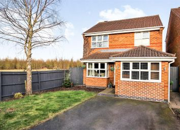 Thumbnail 3 bed detached house for sale in Buttercup Avenue, Donisthorpe