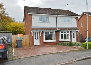 Thumbnail 2 bedroom semi-detached house for sale in Gatcombe Close, Wolverhampton
