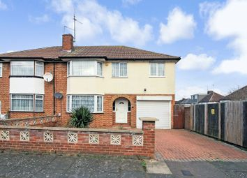 Thumbnail 5 bed semi-detached house for sale in Raleigh Grove, Luton