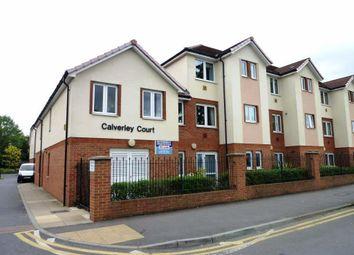 Thumbnail 1 bedroom flat for sale in Calverley Court, Kingston Road, Ewell, Epsom