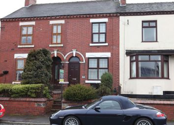 Thumbnail 2 bed terraced house to rent in High Street, Newchapel, Stoke-On-Trent