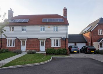 Thumbnail 3 bed semi-detached house for sale in Perch Close, Ashford