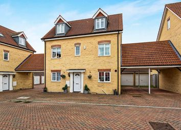 Thumbnail 5 bed detached house for sale in Lammerside, Bedford