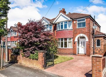 Thumbnail 3 bed semi-detached house for sale in Greenway Road, Timperley, Altrincham
