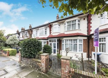 Thumbnail 3 bed terraced house for sale in Hawthorn Avenue, London