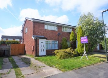 Thumbnail 2 bed semi-detached house for sale in Wallgarth Close, Wigan