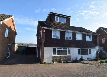 Thumbnail 4 bed semi-detached house for sale in Cedar Road, Sturry, Canterbury