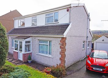 Thumbnail 4 bed detached house for sale in The Walk, Ystrad Mynach