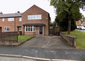 Thumbnail 3 bed terraced house to rent in Hamil Drive, Leek, Staffordshire