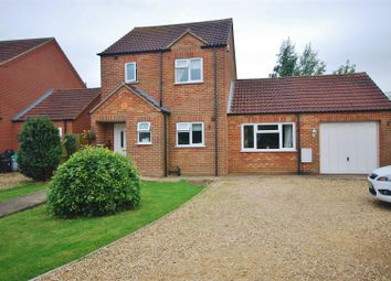 Thumbnail 3 bed detached house for sale in Jubilee Close, Sutton St. James, Spalding