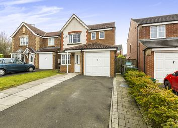 Thumbnail 3 bed detached house for sale in Newbell Court, Consett