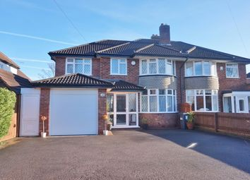 Thumbnail 5 bed semi-detached house for sale in Whitehouse Common Road, Sutton Coldfield