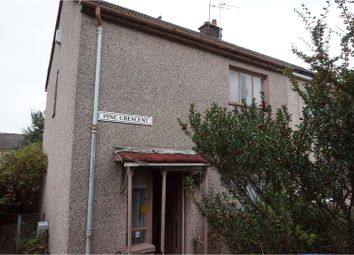 Thumbnail 2 bed semi-detached house for sale in Pine Crescent, Johnstone