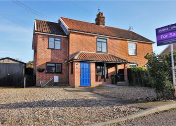 Thumbnail 4 bed semi-detached house for sale in Mill Road, Thetford