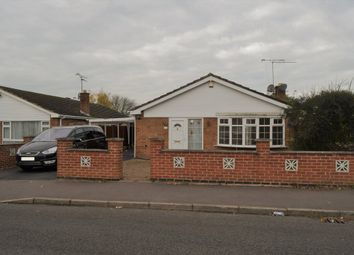 Thumbnail 3 bedroom detached bungalow for sale in Severn Road, Oadby, Leicester