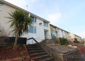 Thumbnail 3 bed terraced house to rent in Queensway, Torquay