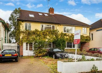 Thumbnail 4 bed semi-detached house for sale in Walton Road, West Molesey, Surrey