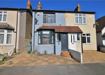 Thumbnail 3 bed semi-detached house for sale in Park Avenue, Egham, Surrey