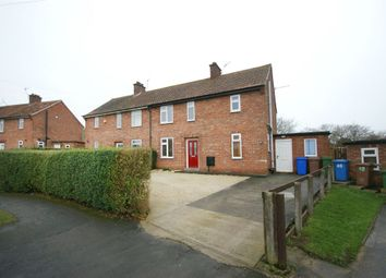 Thumbnail 3 bedroom semi-detached house for sale in Denison Road, Pocklington, York