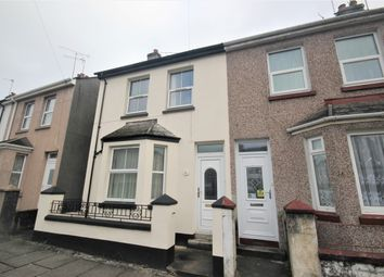 Thumbnail 3 bed terraced house to rent in Tresluggan Road, Plymouth