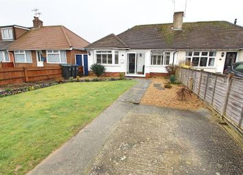 Thumbnail 2 bed semi-detached bungalow for sale in Beechwood Avenue, Worthing, West Sussex