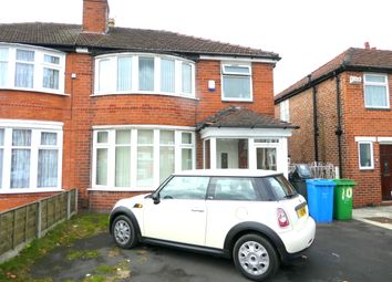 Thumbnail 6 bed semi-detached house to rent in Parrs Wood Road, Didsbury, Manchester