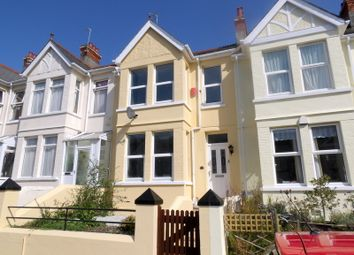 Thumbnail 3 bed terraced house to rent in Stangray Avenue, Mutley, Plymouth