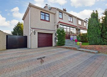 Thumbnail 4 bed semi-detached house for sale in Northall Road, Barnehurst, Kent
