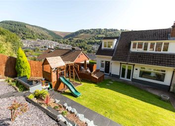Thumbnail 3 bed semi-detached house for sale in Six Bells, Abertillery, Blaenau Gwent
