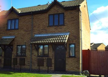 Thumbnail 2 bed end terrace house to rent in Chitterman Way, Markfield, Leicestershire