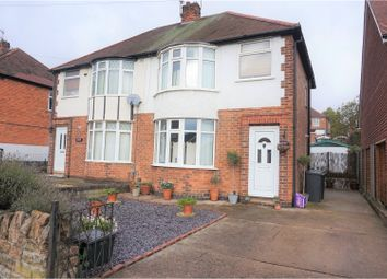 Thumbnail 3 bedroom semi-detached house for sale in Foxhill Road, Nottingham