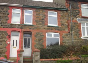 Thumbnail 3 bed terraced house to rent in Gellideg Road, Maesycoed, Pontypridd